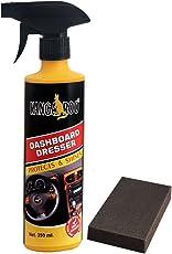 KANGAROO Dashboard Polish Spray 350 ML+ Foam PAD - HIGH Gloss Formula for Vinyl,Leather & Rubber.