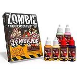 The Army Painter   Warpaints Zombicide Toxic/Prison Set   Lot de Peintures pour les Extensions Toxic City Mall et Prison Outb