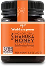 Wedderspoon 100 Percent Raw Premium Manuka Honey, 249.47g