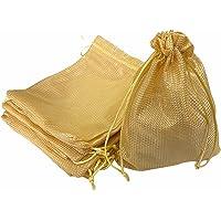 Krisah 23 X 18 cm Self Design Potli Bags for Gifting Pack of 12