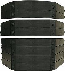 KHW Komposter Schnellkomposter Aufbausatz, 250 L, schwarz
