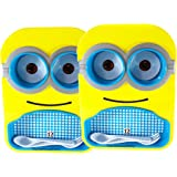 ThemeHouseParty® Minions Lunch Plate Set of 2 nos Minion Tray Set Multipurpose Food Serving Plate with Bowls,Spoon &Fork…