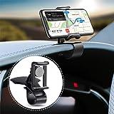 BEENLE Cruscotto Supporto Cellulare Auto, 2 in 1 Smartphone Supporto Universale Rotazione di 360° Porta Cellulare da Auto Pre