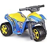 FEBER Planet - Moto Électrique à 3 Roues pour Enfants de 1 à 3 ans, 6v, Multicolore