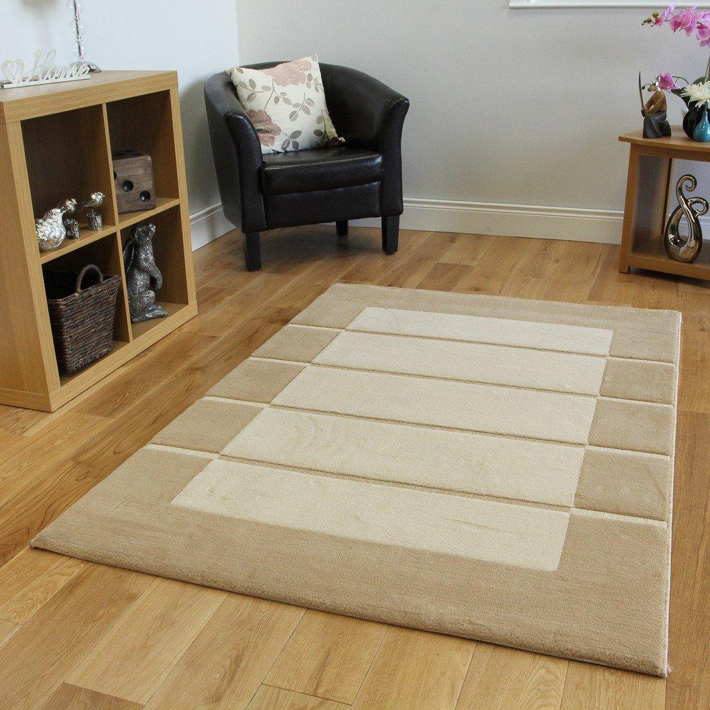 Misure tappeti tappeto moderno sfocato grigio marrone for Amazon tappeti soggiorno