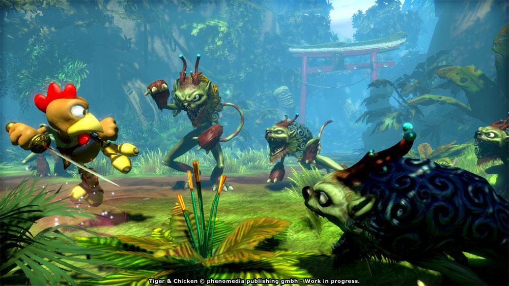 Moorhuhn: Tiger and Chicken Steam Code screenshot