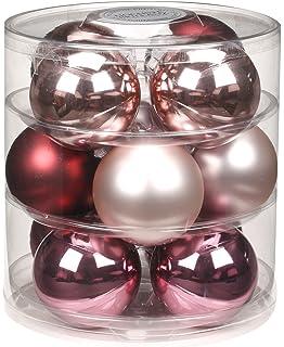 Christbaumkugeln Glas Braun.Weihnachtskugeln Baumschmuck Weihnachtsdeko Kugeln Deko Braun