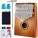 Kalimba 17 Clés Pouce Piano Nabance instrument professionnel acajou de haute qualité avec sac de piano marteaux manuel d'étud