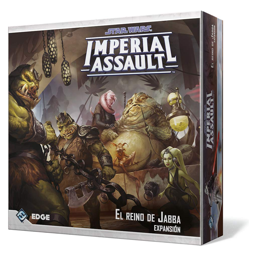 Fantasy Flight Games-El El Reino de Jabba, colección Imperial Assault (FFSWI32)