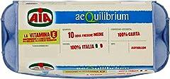 AIA 10 Uova aeQuilibrium Vitamina E, 100% Italiane, 580gr