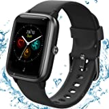 """TEMINICE High-End Fitness Trackers,Health Sports Smart Watch with Heart Rate & Sleep Monitor,Calorie Step Counter,1.3"""" Touch"""