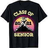 clase de 2021 senior Girls Boys 21 lindo regalo para mujeres Camiseta