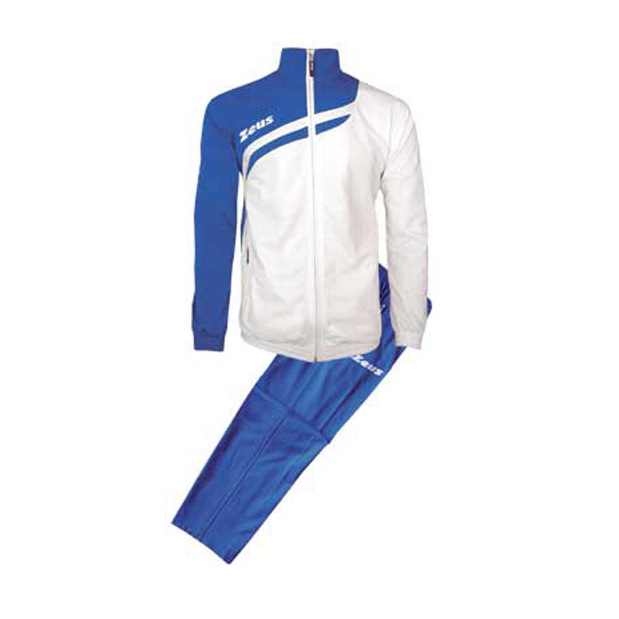 M Tuta Amilkare Granata-Blu Zeus Corsa Sport Uomo Staff Running jogging Allenamento Relax Calcio Calcetto Torneo Scuola Sport