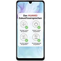 HUAWEI P30 lite Dual-SIM Smartphone Bundle (6,15 Zoll, 128 GB ROM, 4 GB RAM, Android 9.0) Weiß + SD Karte [Exklusiv bei…