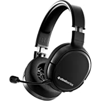 SteelSeries Arctis 1 Wireless - Wireless Gaming Headset - USB-C Wireless - Detachable Clearcast Microphone - for PC, PS4…