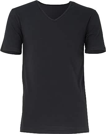 Baldessarini Men's Plain Short Sleeve Underwear Set Black Schwarz-dunkel-uni -  Black - Small