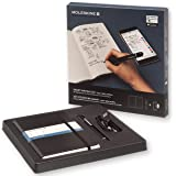Moleskine Smart Writing Set - Set de Escritura Inteligente, Cuaderno Digital y Bolígrafo, Hojas Punteadas, Color Negro