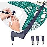 Runmeihe Cutter de Précision, Rotative À 360 Degrés Precision Cutter, Coupe D'artisanat avec Lame, Acier Inoxydable Cutter Ut