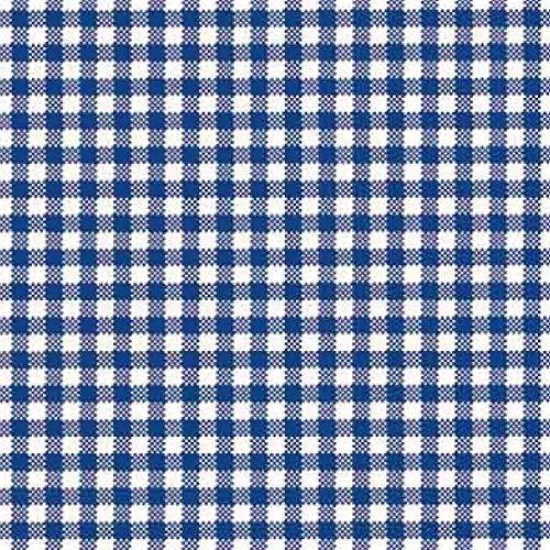 Ambiente Serviettes 33 x 33 cm, Vichy Bleu