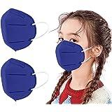 MaNMaNing Niños Protección 20-100 Unidades con Elástico para Los Oídos 20210121-MANIN-K009 (Azul Marino 20PC)