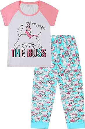 Disney Women's The Aristocats Marie The Boss Pyjamas