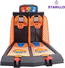 STARILLO Indoor Basketball Shoot Game (Multicolour)