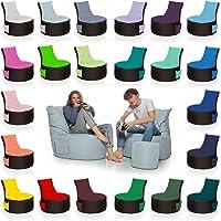 HomeIdeal - 2Farbiger Gamer Sitzsack Lounge für Erwachsene & Kinder - Gaming oder Entspannen - Indoor & Outdoor da er…