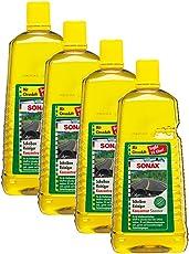 SONAX 4X 02605410 ScheibenReiniger Konzentrat Citrus Scheibenklar 2L
