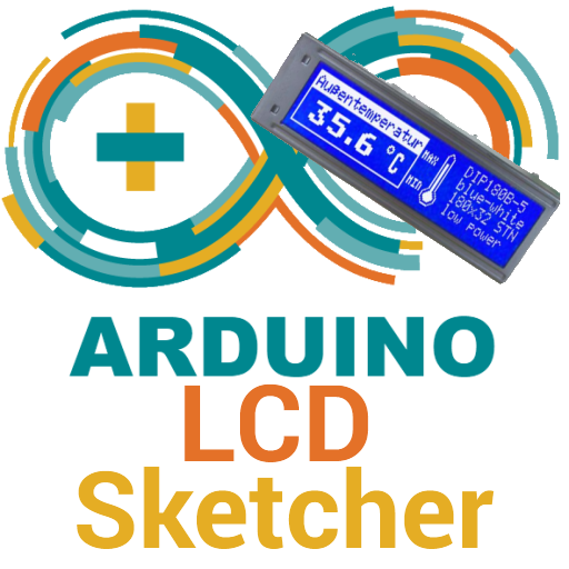 LCDsketcher 4 ARDUINO Fp Lcd
