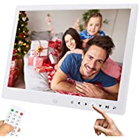 Digital Photo Frame - TEKXDD 12 inch Smart Digital Picture Frame with 1280 * 800 Display Screen, Support Video, Music…