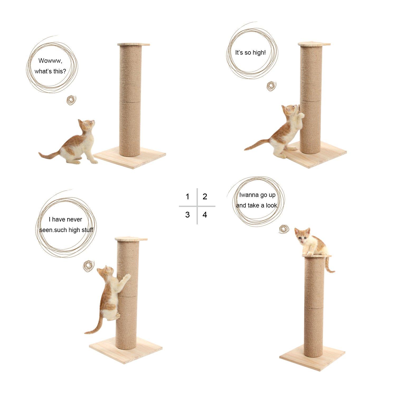 Sweet Devil Fai Da Te Tiragraffi Per Gatti Scratching Cat Tree Gatto