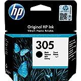 HP 305 3YM61AE Cartuccia Originale, da 120 Pagine, per Stampanti a Getto di Inchiostro HP DeskJet 27...