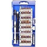 Cacciavite di Precisione, Set Cacciaviti Precisione Proffesionale 60 in 1 Kit Cacciaviti di Riparazione per Occhiali, Smartphone, iPad, Tablet, Cellulare, PC, Laptop, Elettronica