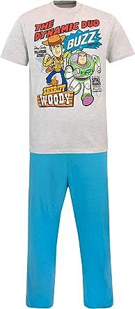 Disney Mens Toy Story Pyjamas Blue Size X-Large