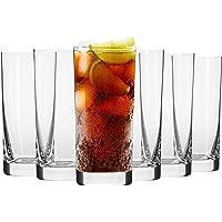 Krosno Verre à Eau Jus Long-Drink | Lot de 6 | 350 ML | Collection Blended | Parfait la Maison, Les Restaurants, Les…