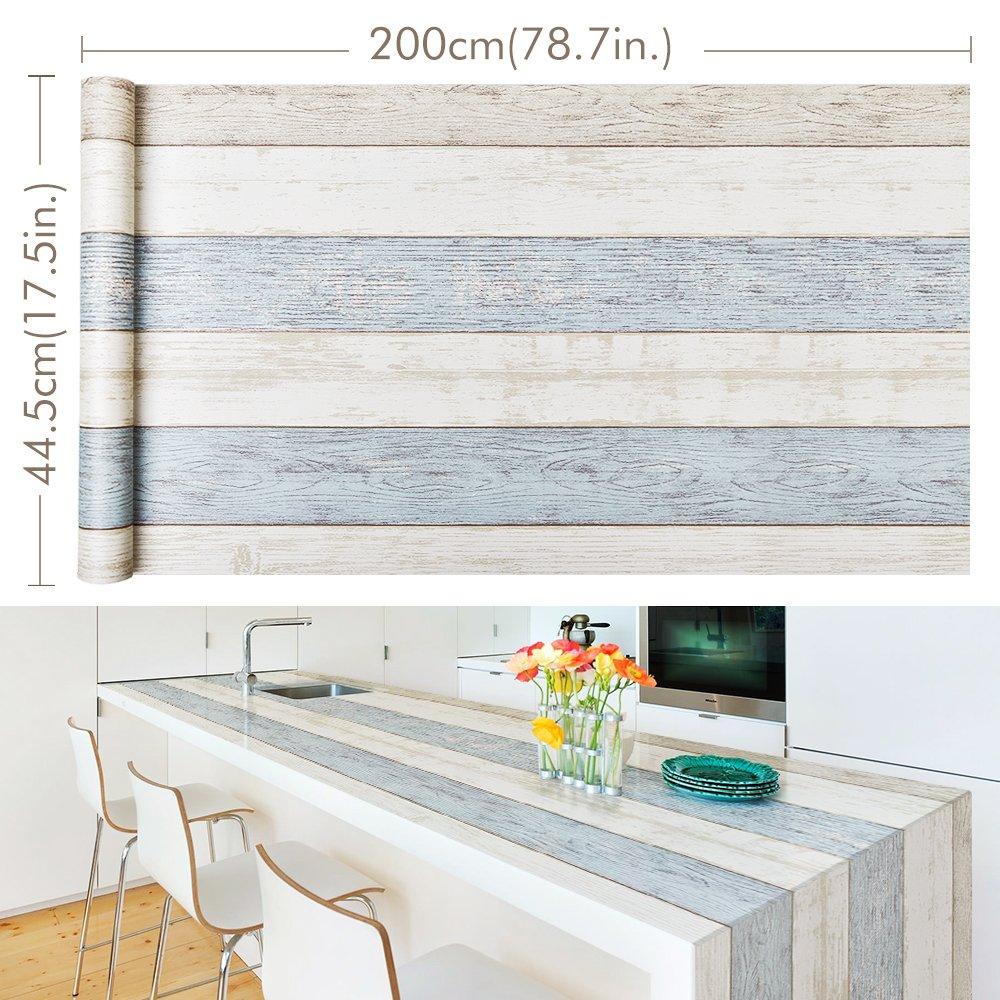 Adesivi per mobili Homein® Carta Adesiva per Mobili 30x200cm ...