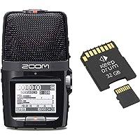 Zoom H2n Handy Audio-Recorder + Speicherkarte 32GB
