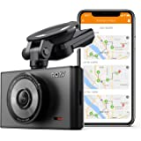 Caméra de Voiture Roav DashCam C2 Pro avec Wifi - Caméra embarquée Full HD 1080p 30fps, mode nuit, capteur Sony Starvis, module GPS, Wi-Fi, WDR, ventouse et lentille grand-angle [carte SD incluse]