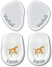 FootActive Gel-Kissen - (4 Stck.) - Wer sanft Auftritt, kommt weit. Gelkissen zur Steigerung des Laufkomforts!