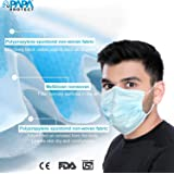 Papa Protect 3Ply Face Mask   Protection Surgical Disposable   3 ply SITRA Certified   Certified   Safe   Pack of 50…