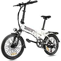 VIVI Elektrofahrrad Klapprad 20 Zoll 36V E-Bike Faltrad Pedelec Elektro Klapprad mit Motor Citybike 7-Gang Klappfahrrad