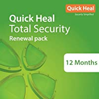 Quick Heal Total Security Renewal Upgrade Silver Pack - 1 User, 1 Year (Email Delivery in 2 hours- No CD)- Existing…