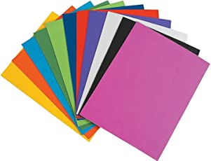 Kabeer Art Eva Foam Sheet Of 10 Different Colors A4 Size 2mm Thickness