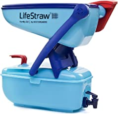 LifeStraw Plastic Family 2.0 Portable Water Purifier