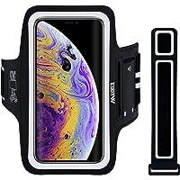 Fascia da Braccio per iPhone X/XS/11 Pro, EOTW Porta Cellulare Braccio Fascia Running Huawei P20 Lite/Samsung S10/S8/S9…