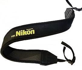 CowboyStudio Professional Neoprene Neck Strap Neckstrap for NIKON Camera