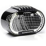 SUPER NOVA Unisex – Erwachsene M99 Pro Fahrradlicht, schwarz, 1100-1600 Lumen