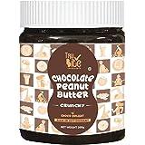Trubite Chocolate Peanut Butter (Crunchy) | High In Protein | Goodness Of Dark Chocolate | No Cholesterol | Rich In Antioxida