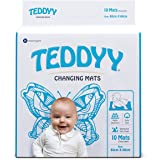 TEDDYY Baby Disposable Changing Mats Size - 60 X 60 cm - (Pack of 10)