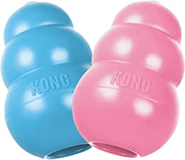 Kong Puppy Dog Toy (Small) - Color May Vary
